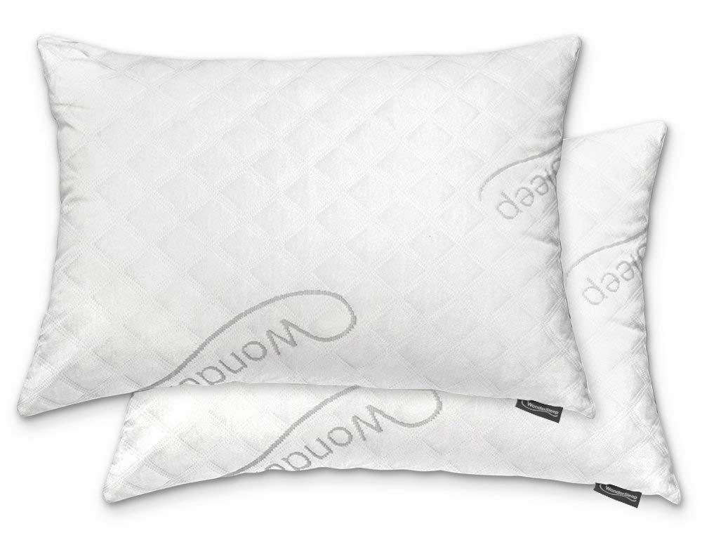 WonderSleep Adjustable Loft Memory Foam Pillow - Best Pillows for Neck Pain
