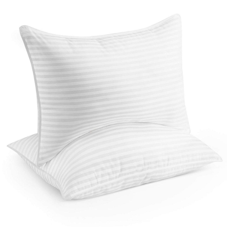 Beckman Hotel Collection Gel Pillow - Best Pillows for Back Sleeping