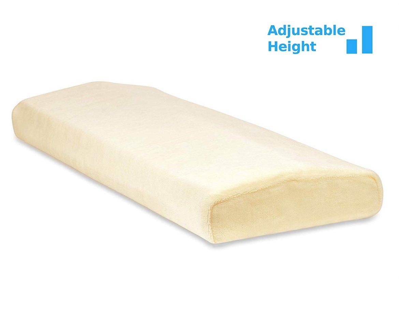 TruContour Adjustable Lumbar Pillow - Best Lumbar Pillows for Sleep
