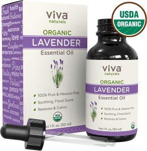 Viva Naturals Organic Lavender