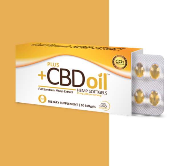 Plus CBD oil capsules - CBD Oils for Sleep and Insomnia
