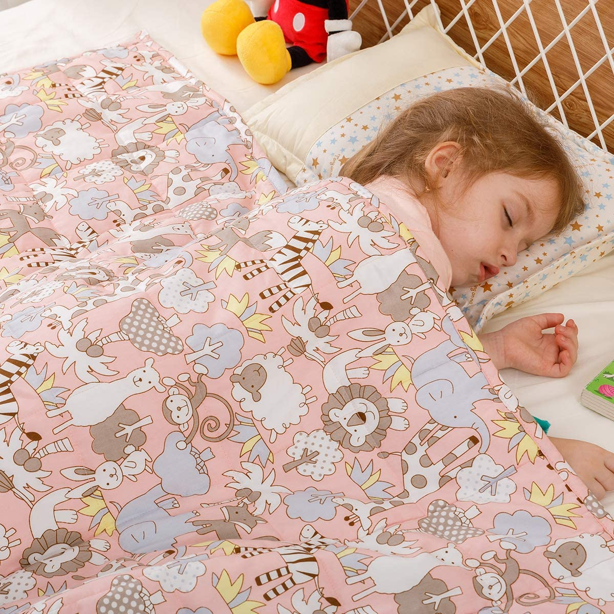Buzio weighted blanket for kids