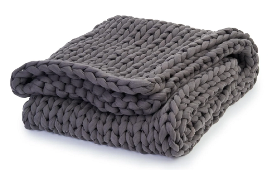 Bearaby cotton napper weighted blanket
